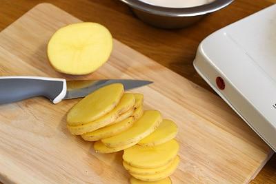Kartoffel scheiben