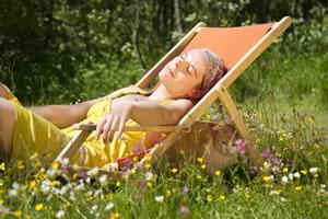 Entspannung im Garten