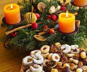 Winter- und Adventsdekoration