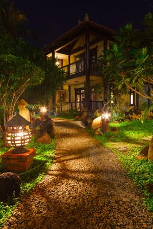 Beleuchtung von Gartenwegen