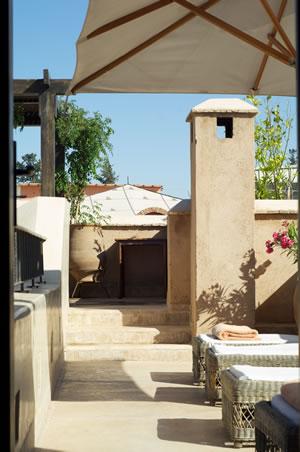Dachterrasse mediterran