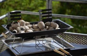 Tischgrill grillen Balkon