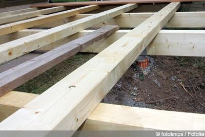 Fabulous Terrassenfliesen richtig verlegen - WPC und Holz - Gartendialog.de NB05