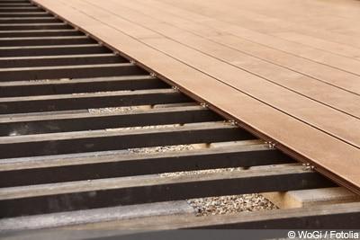 Relativ Terrassenfliesen richtig verlegen - WPC und Holz - Gartendialog.de CY38
