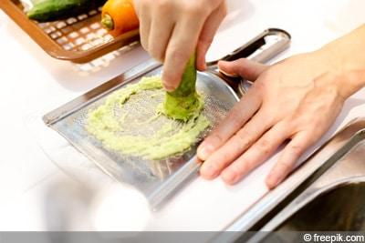 japanischer Meerrettich Wasabi
