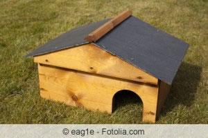 Igelhaus aus Holz