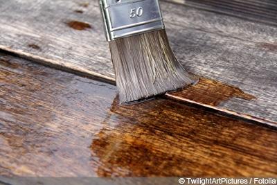 Terrasse Holz lackieren