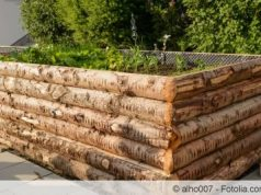 Hochbeet aus Holz