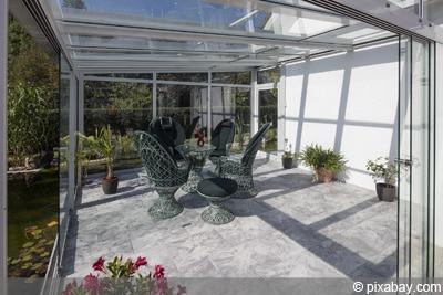 Extrem Wintergarten - Preise für Umbau und lfd. Kosten je m² VK64