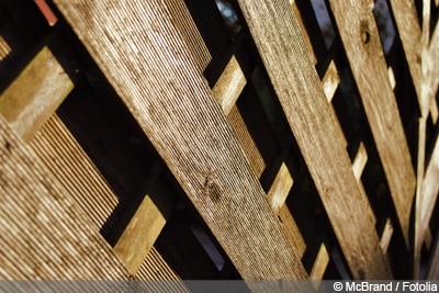 Windschutz Terrasse Holz