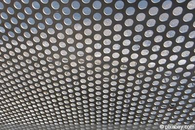 Windschutz Terrasse Metall