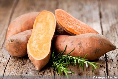 Süßkartoffel roh essen