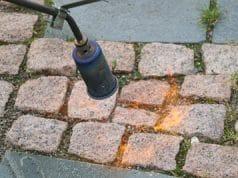 Unkrautbekämpfung mit Feuer