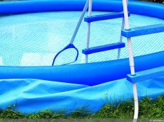 Pool aufstellen