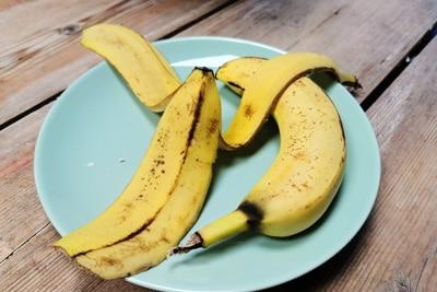 Bananenschalen Dünger