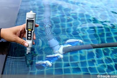 Poolwasser Chlor