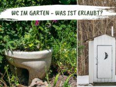 WC Garten erlaubt