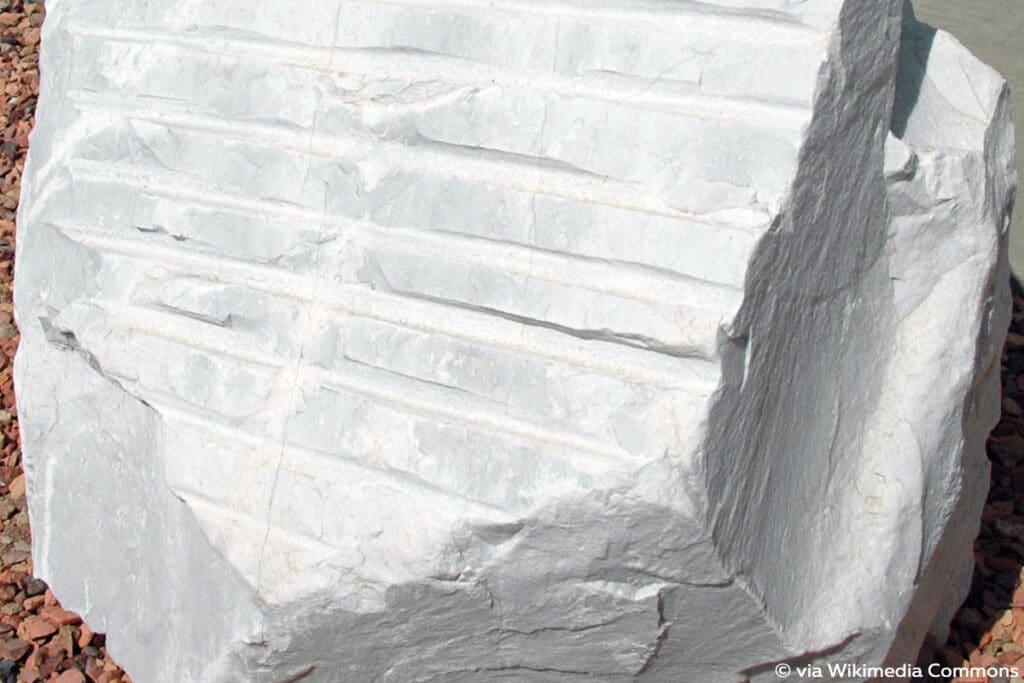 Marmor, hitzebeständige Steine
