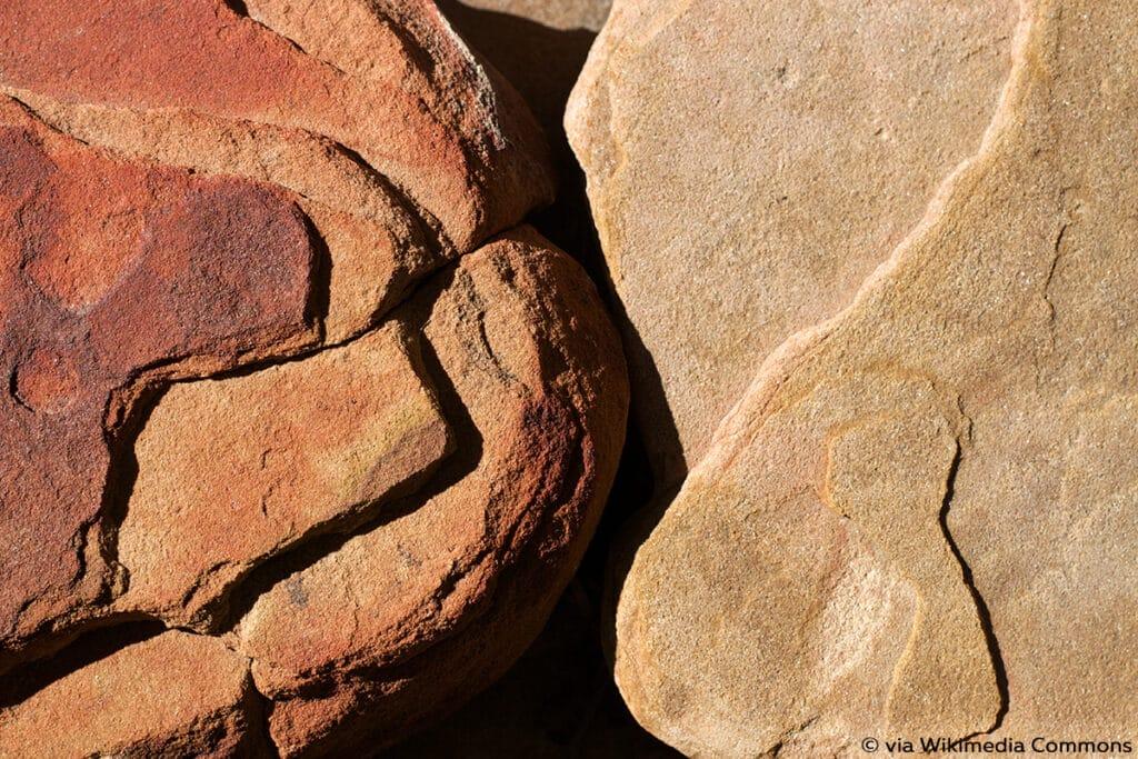 Sandstein, hitzebeständige Steine