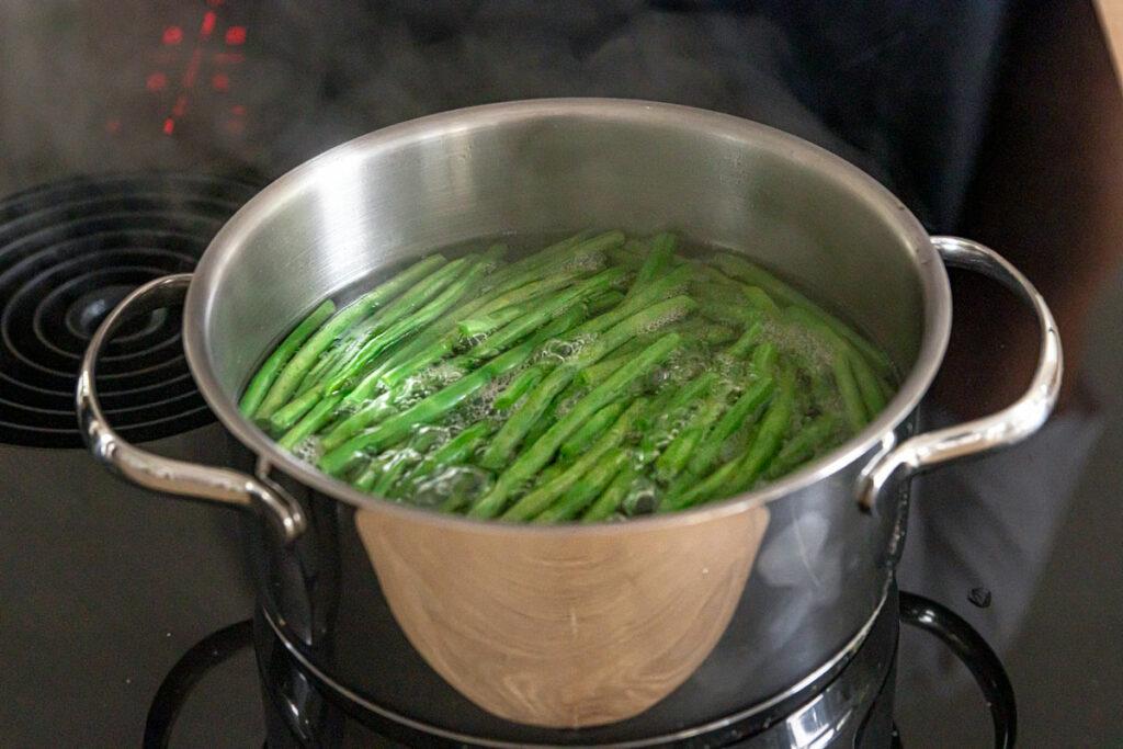 Gartenbohne kochen