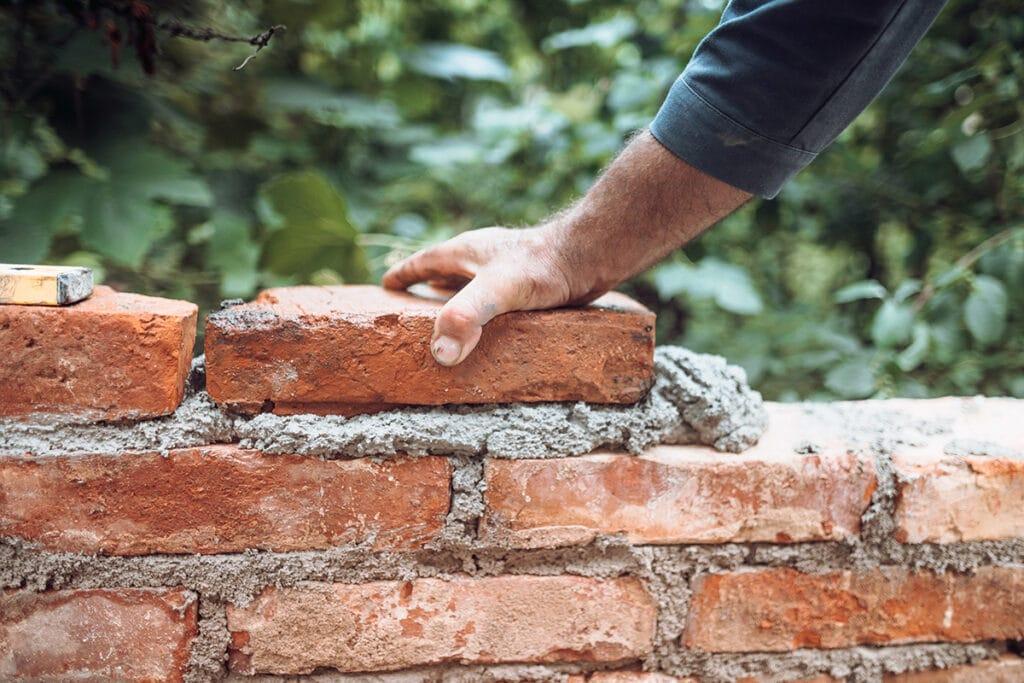 Mauern, Gartenhaus bauen