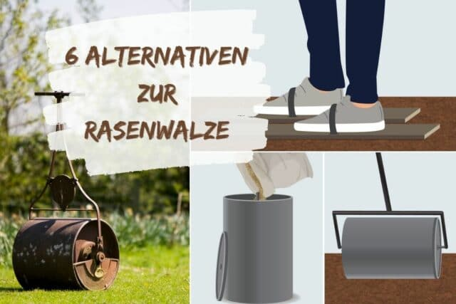 Rasenwalze Alternativen